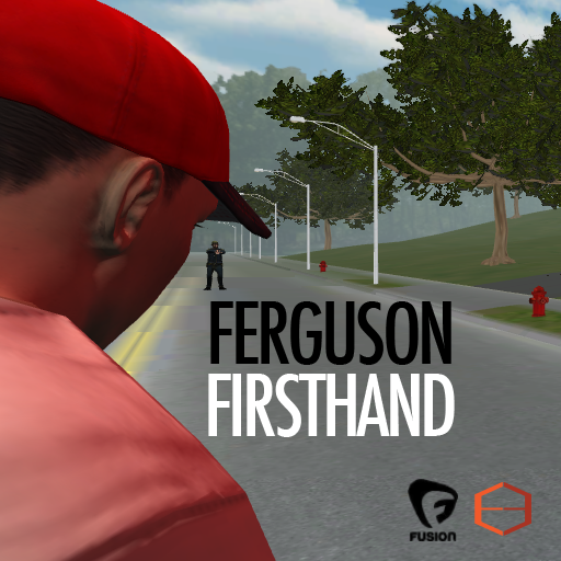 Empathetic Media teamed with Fusion to recreate the scene of the Michael Brown shooting.
